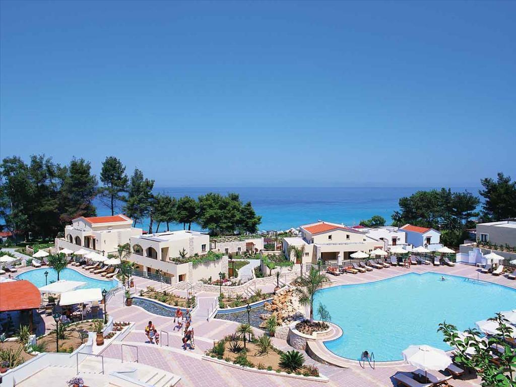Aegean Melathron Hotel - изглед от тераса