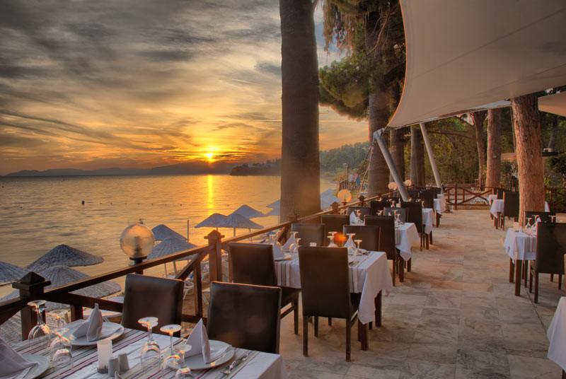 Omer Holiday Village - ресторант - външна част