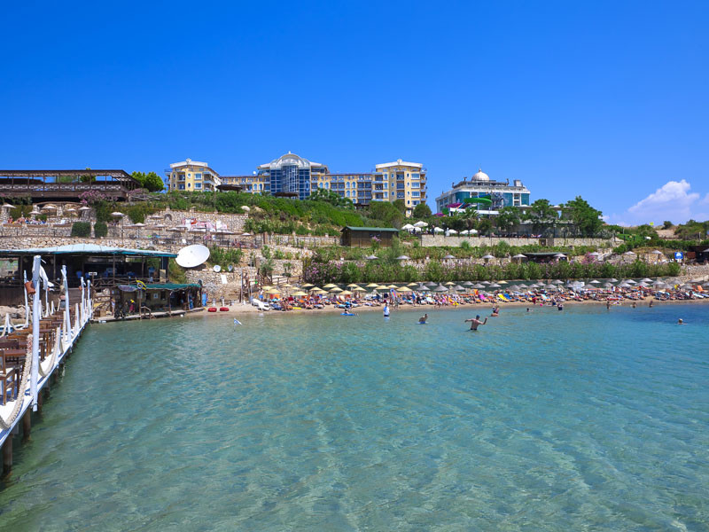 Didim Beach Resort&SPA - плаж