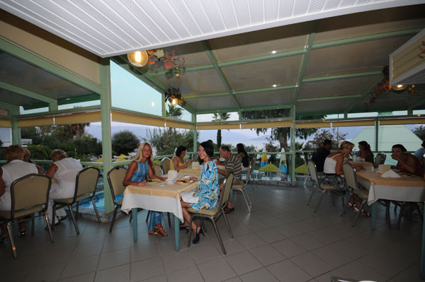 Flamingo Hotel - тераса