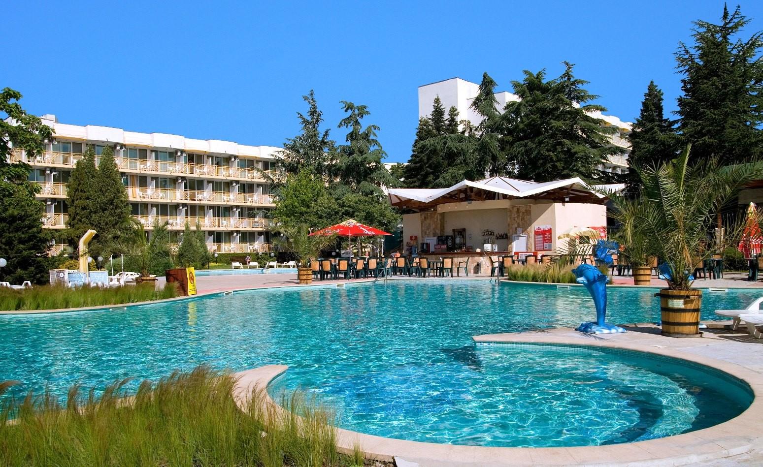 Хотел Малибу - общ изглед