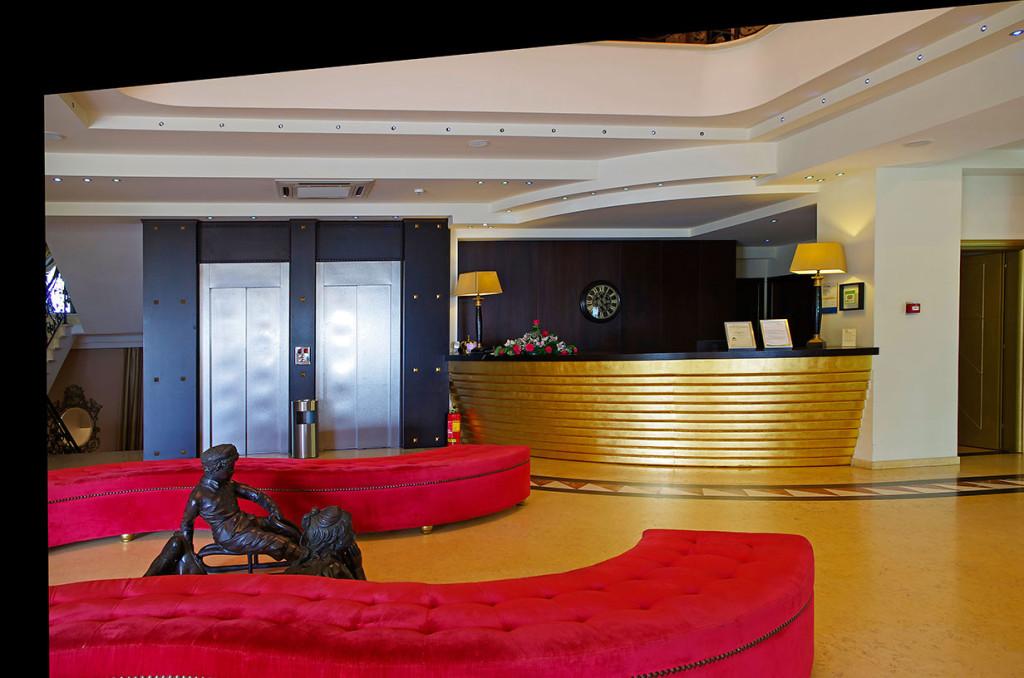 Mediterranean Princess Hotel - рецепция