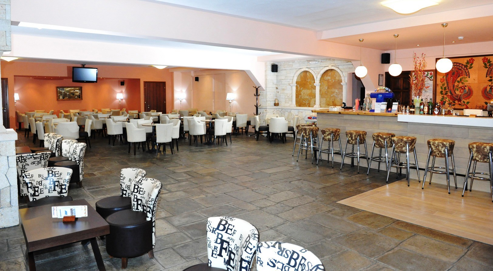 Philoxenia Bungalows Hotel - бар