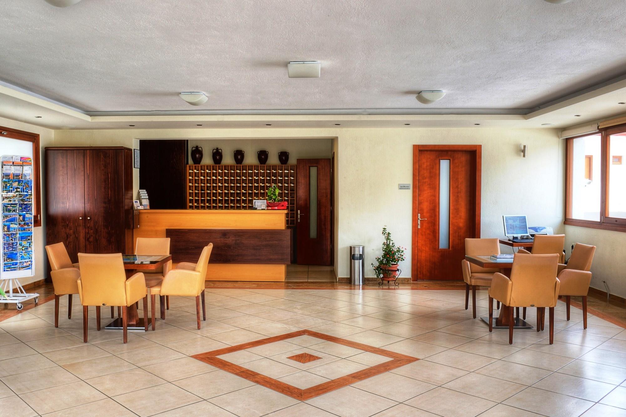 Philoxenia Bungalows Hotel - рецепция