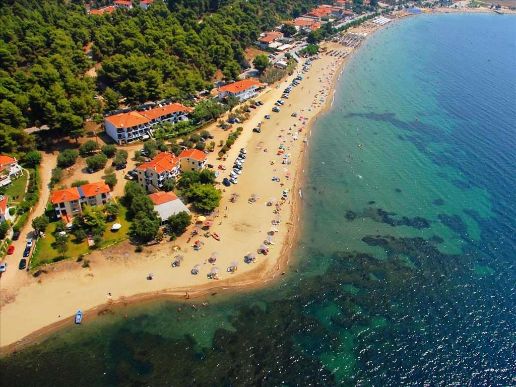 Philoxenia Bungalows Hotel - плаж
