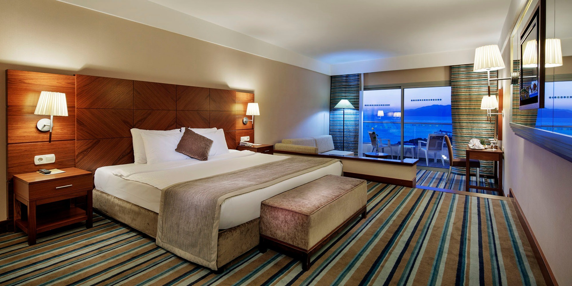 Pine Bay - стандартна стая с изглед море