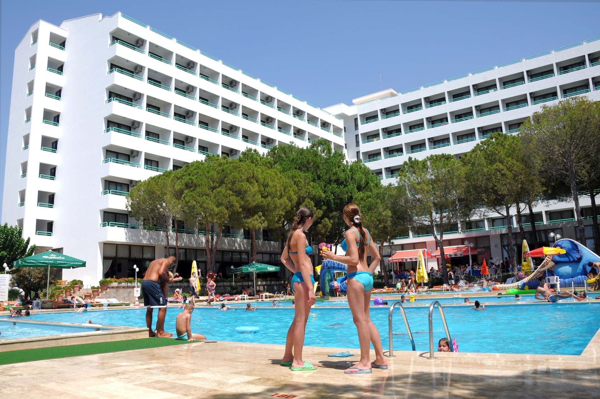 Club Hotel Grand Efe - общ изглед