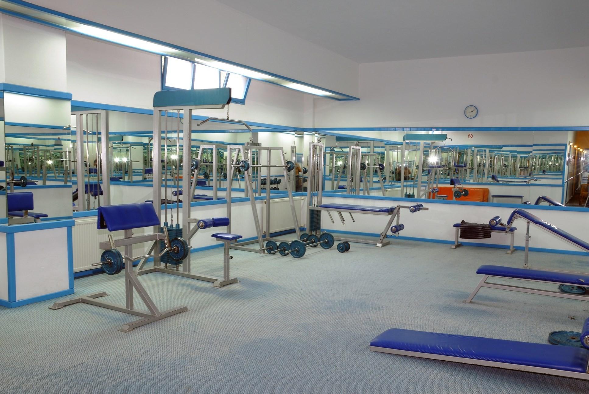 Club Hotel Grand Efe - фитнес