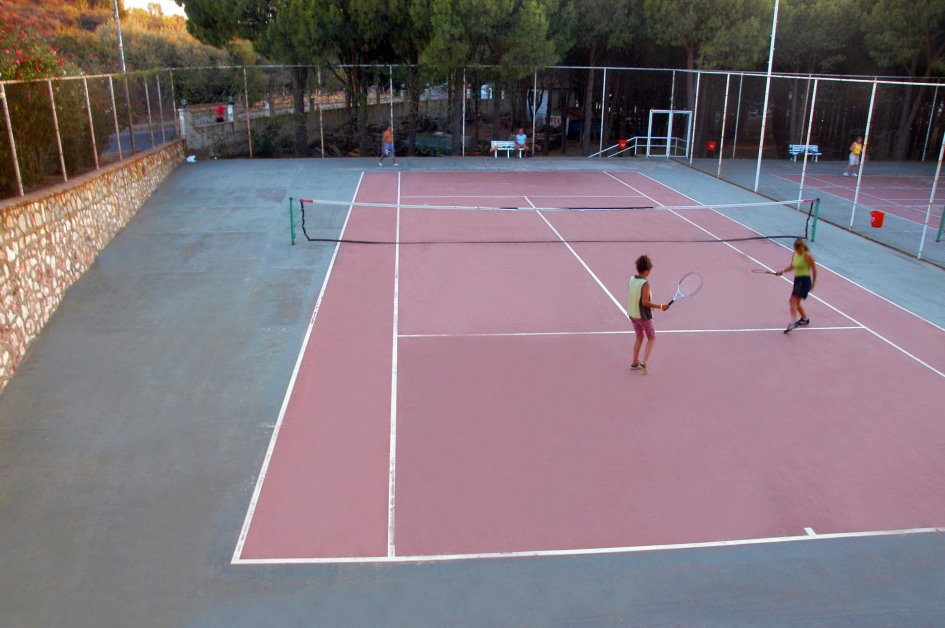 Club Hotel Grand Efe - тенис