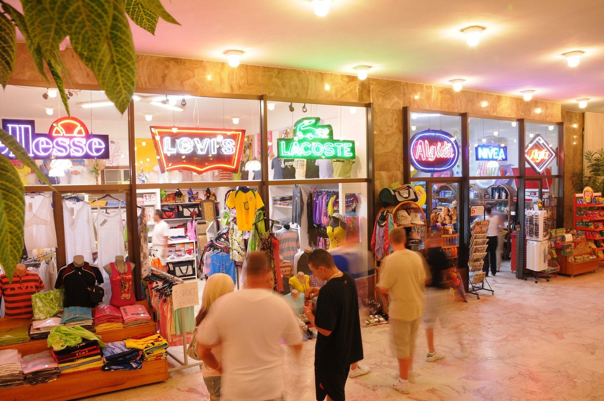 Club Hotel Grand Efe - магазин