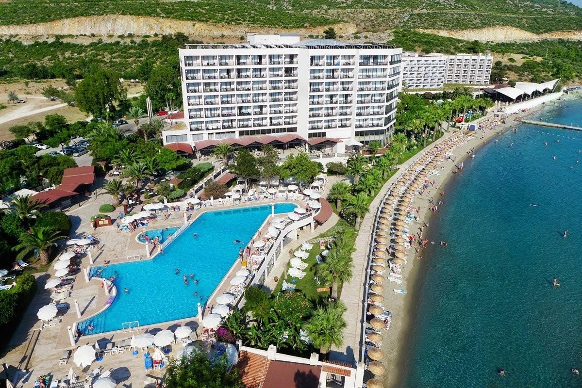 Hotel Tusan - общ изглед