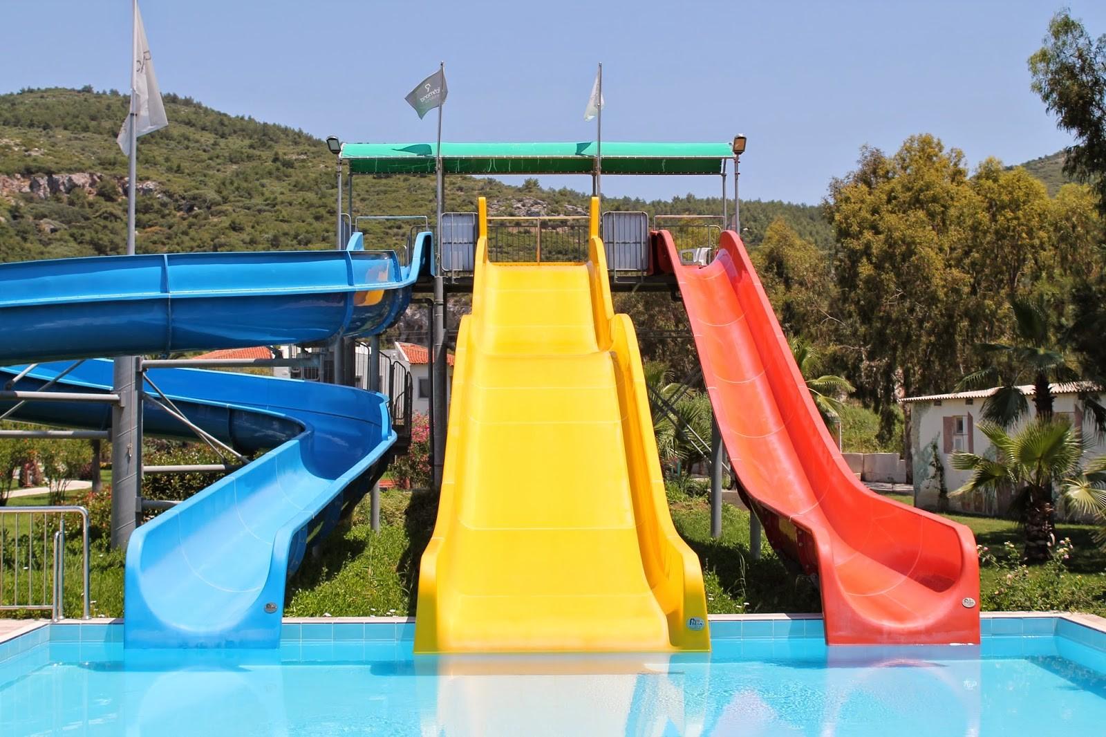 Richmond Ephesus Resort - пързалки