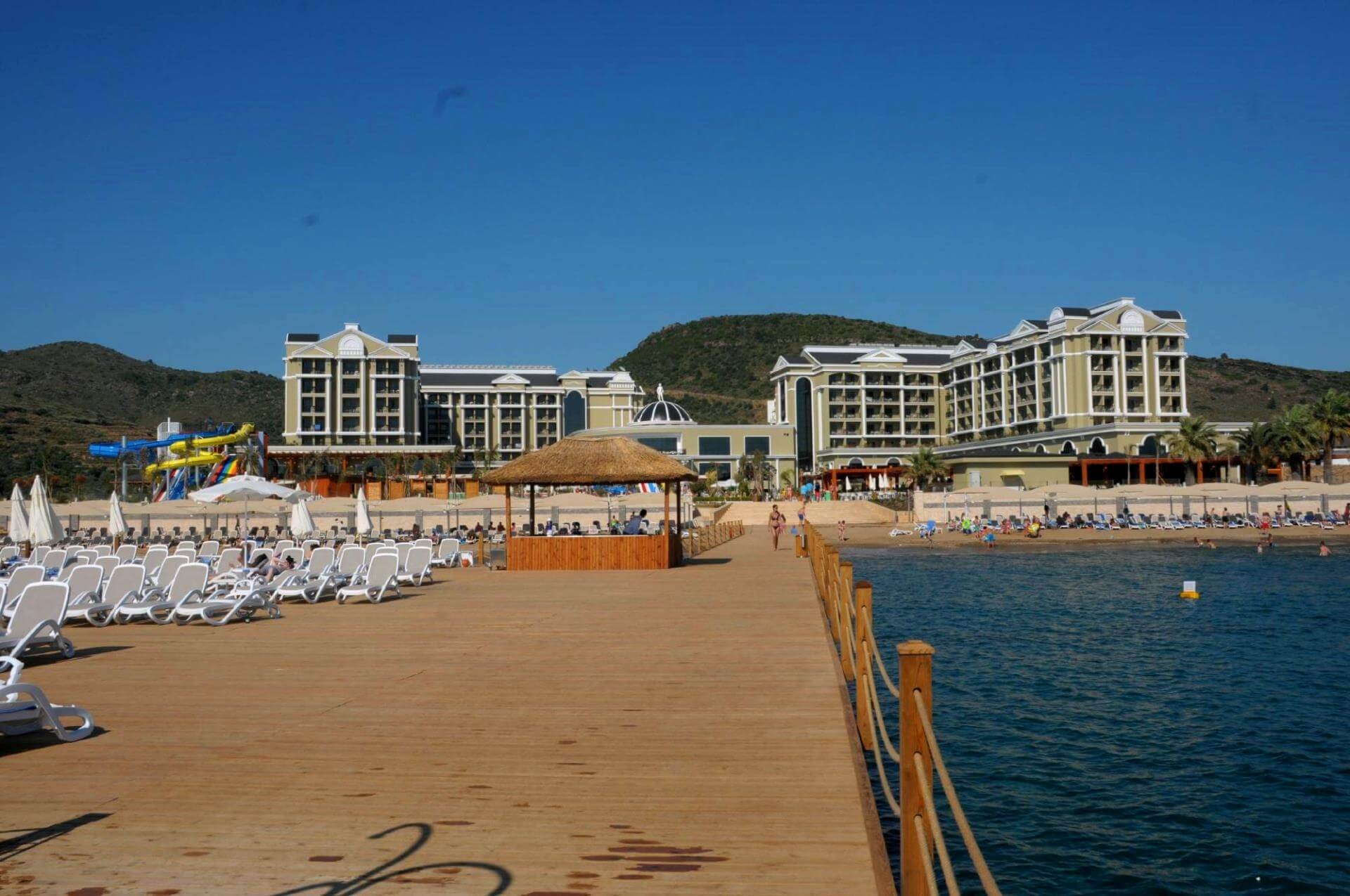 Hotel Sunis Efes Royal Palace - плаж