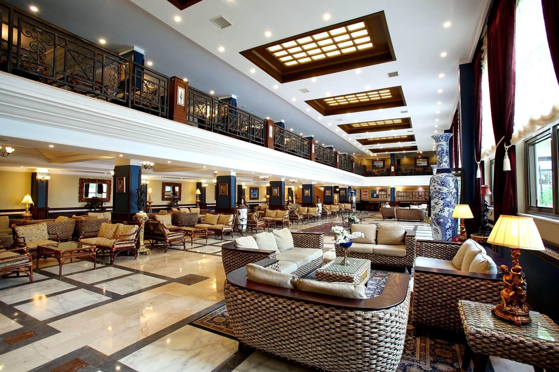 Cactus Club Yalı & Resort - лоби