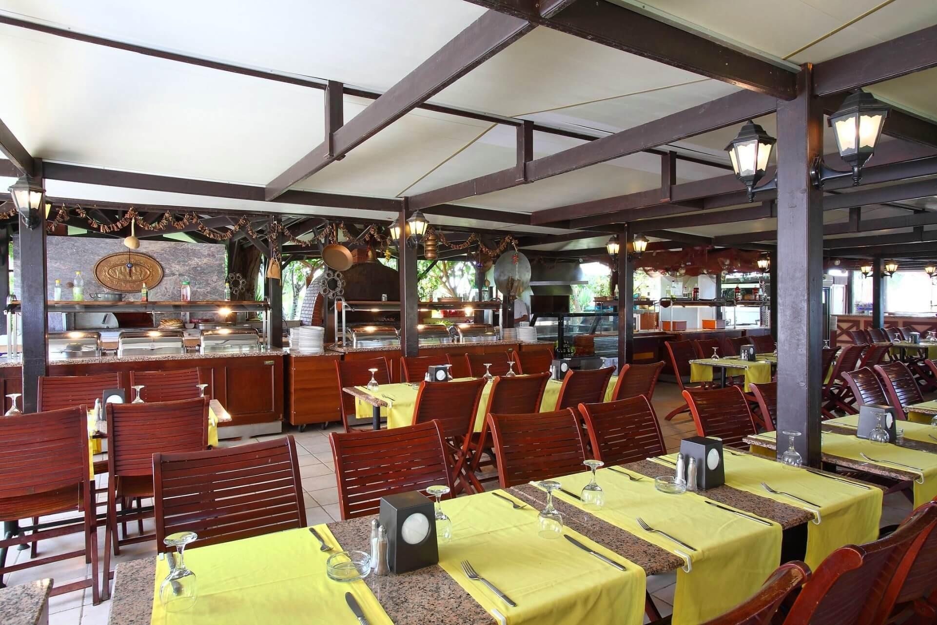 Cactus Club Yalı & Resort - барбекю
