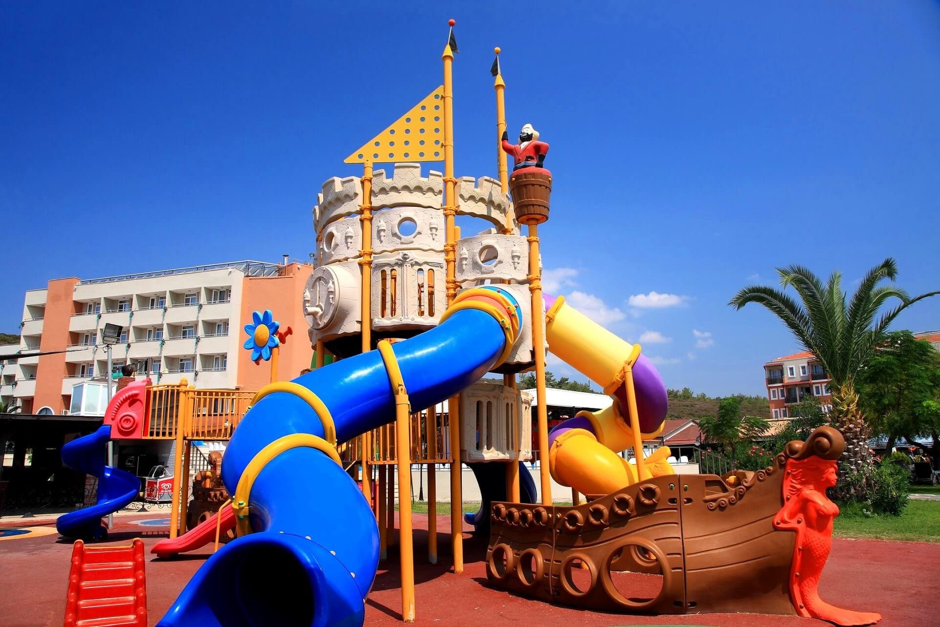 Cactus Club Yalı & Resort - детска площадка