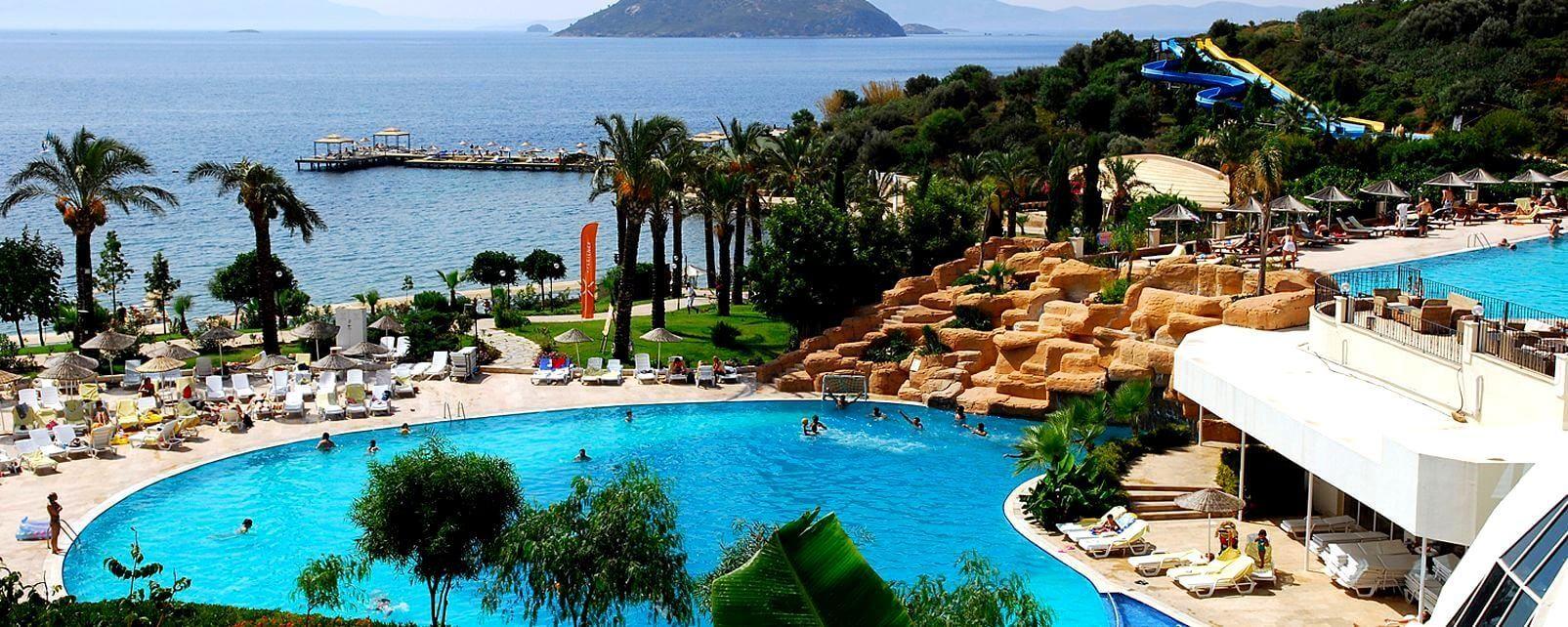 Yasmin Bodrum Resort - общ изглед