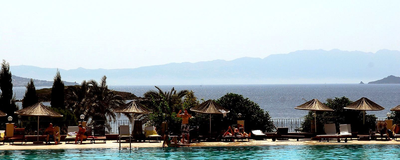 Yasmin Bodrum Resort - басейн