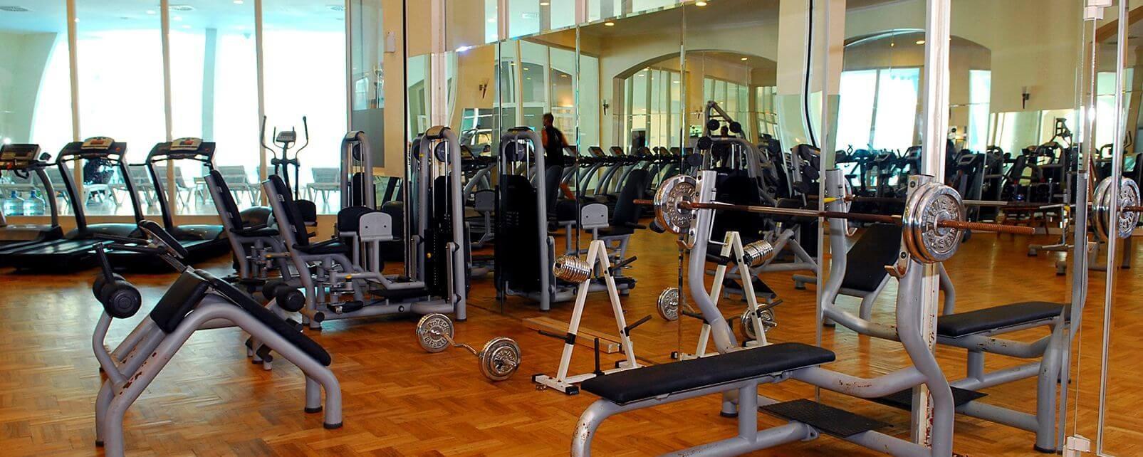 Yasmin Bodrum Resort - фитнес