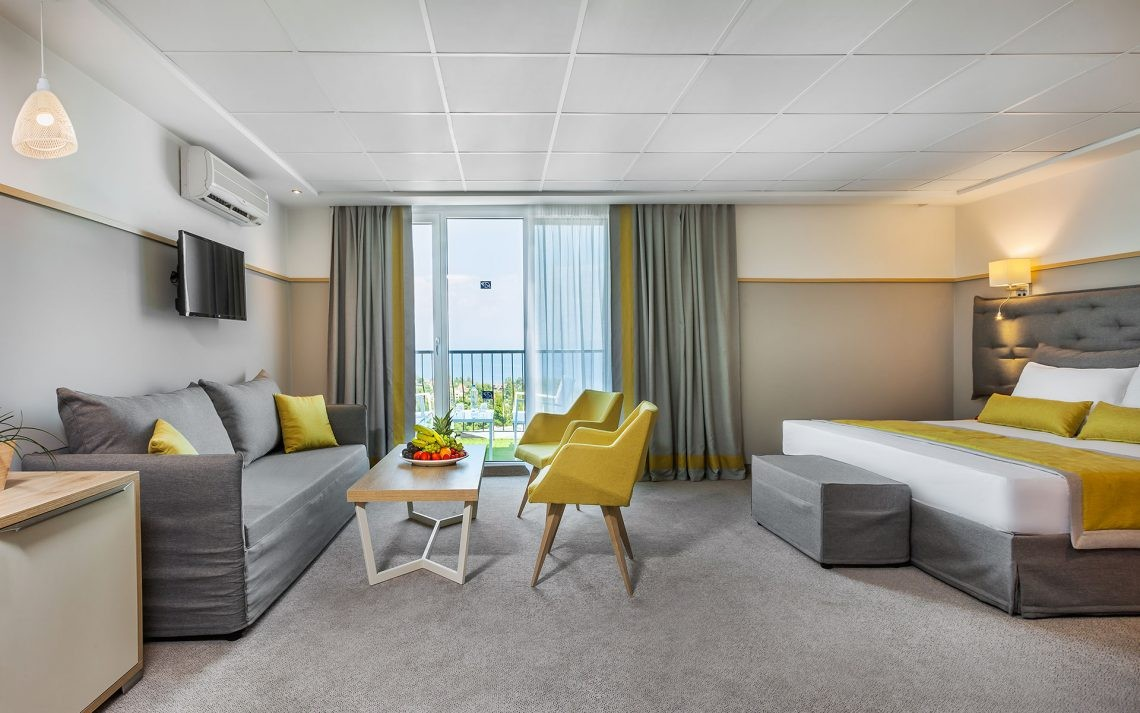 Kriopigi Beach Hotel - едностаен малък апартамент