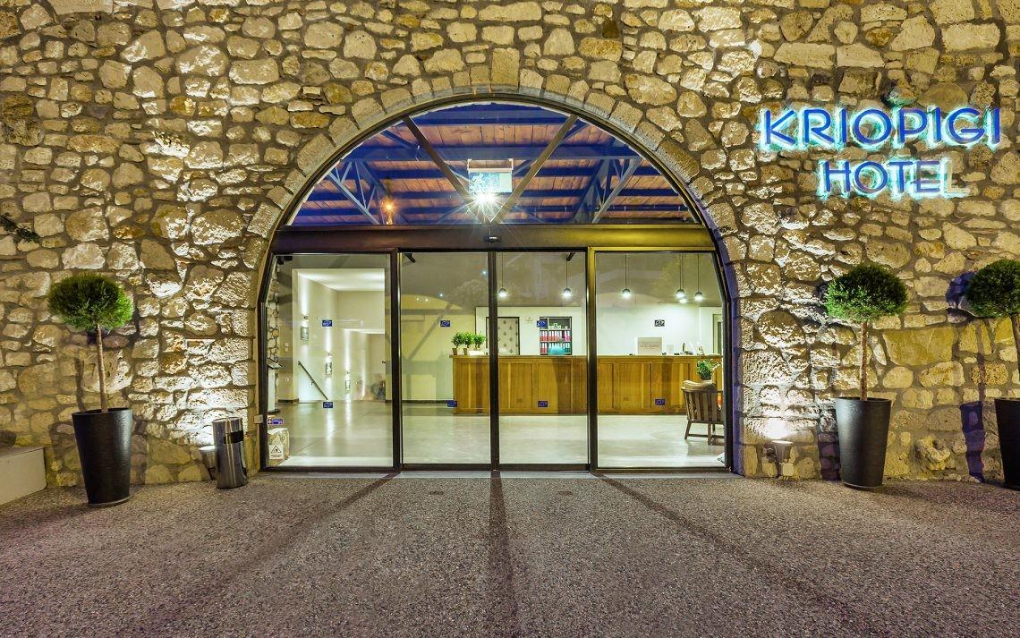 Kriopigi Beach Hotel - вход