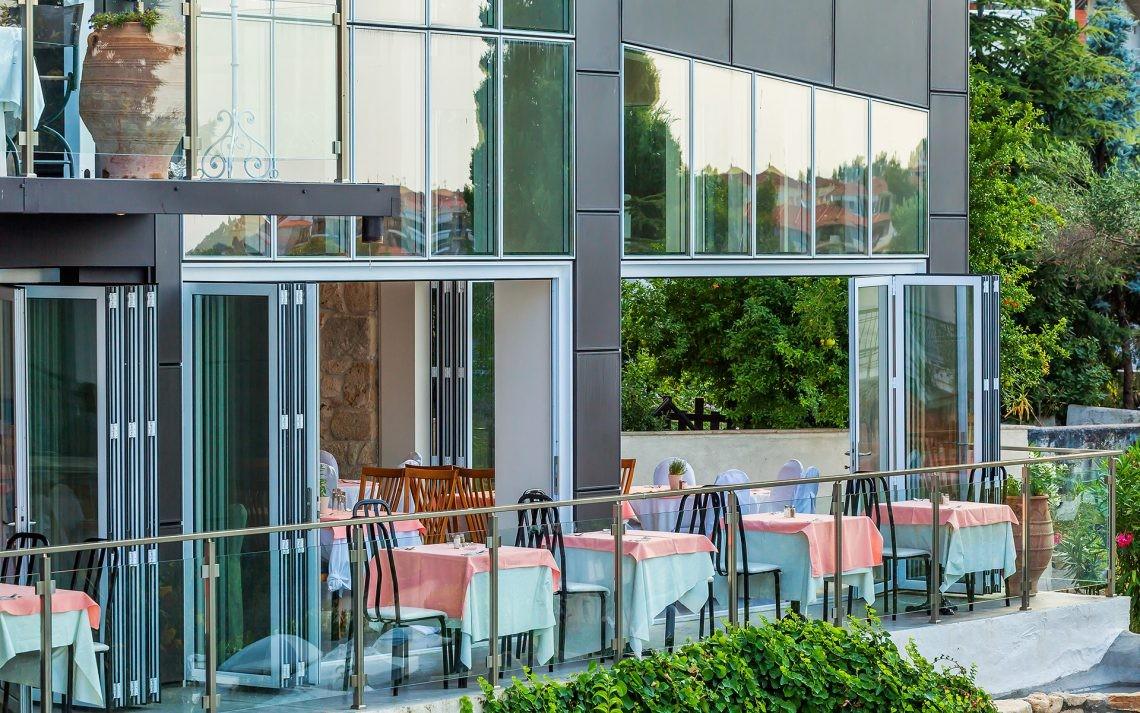 Kriopigi Beach Hotel - ресторант