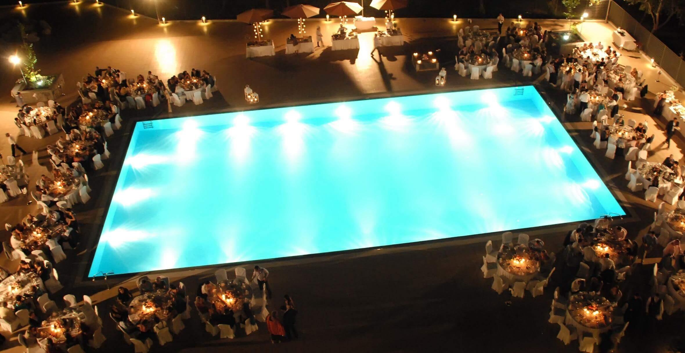 Lucy Beach Hotel 5* - басейн, вечер