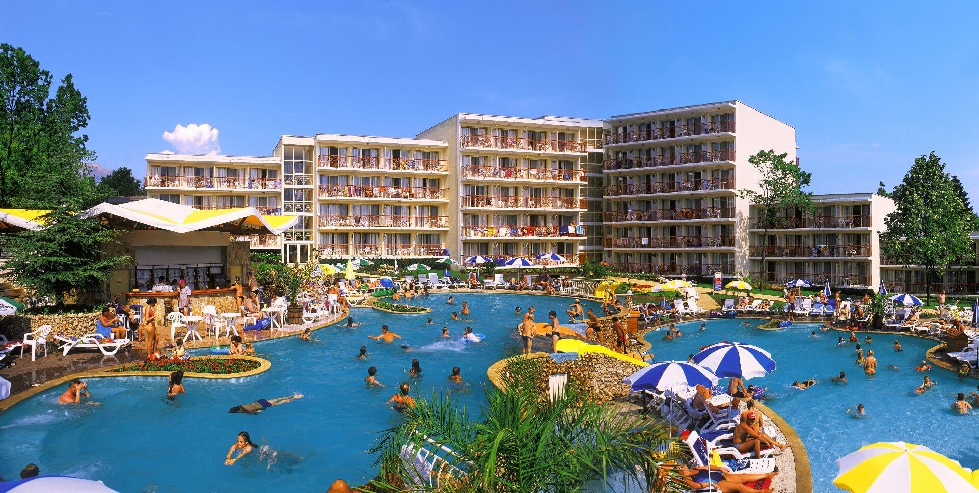 хотел Вита парк - общ изглед