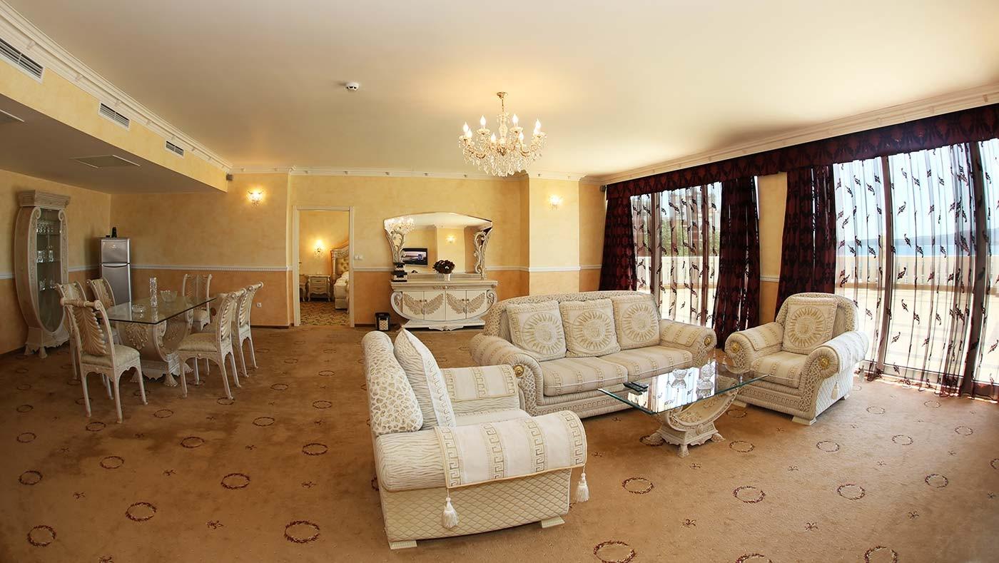 Хотел Марина Бийч - президентски апартамент