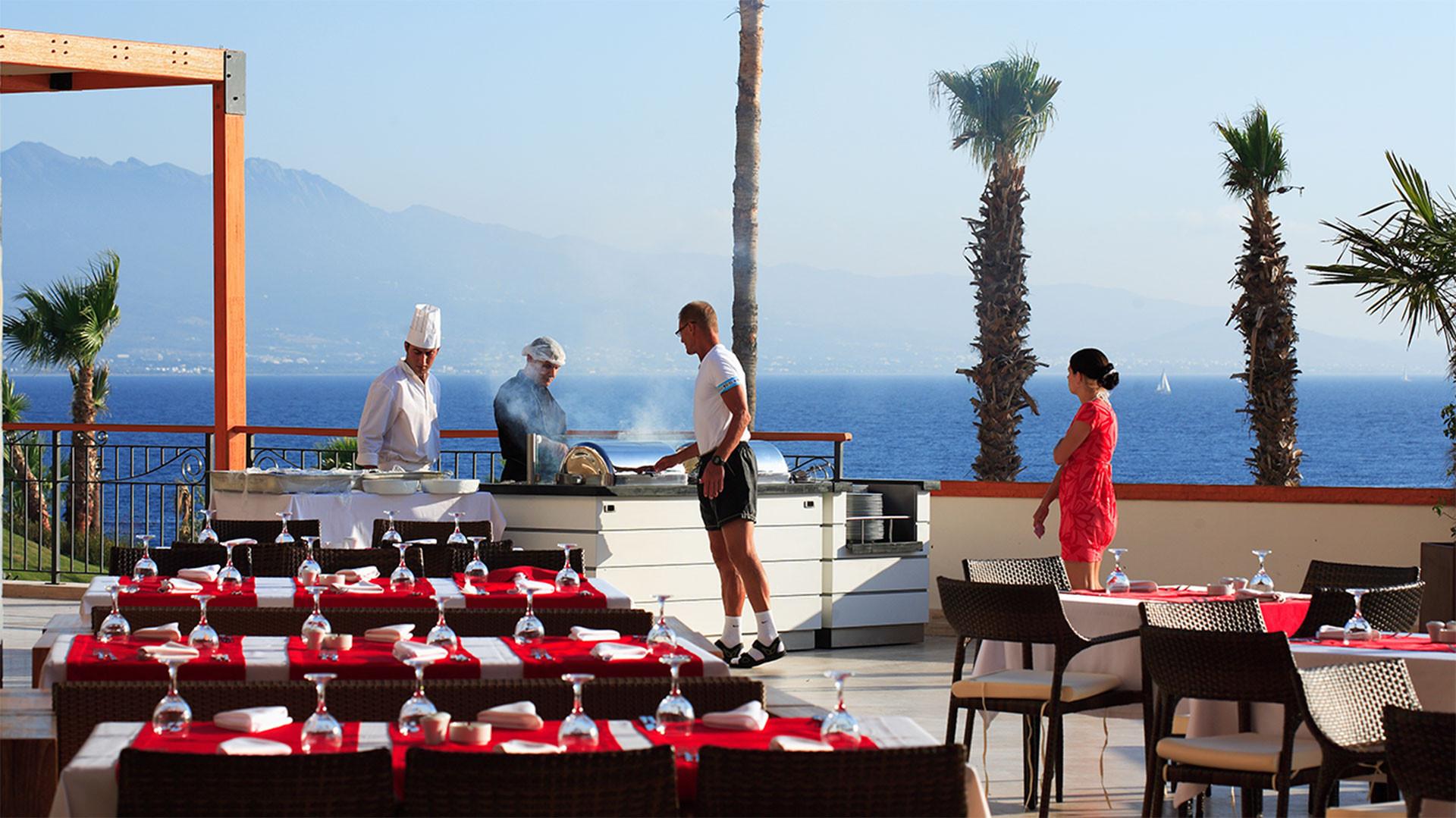 Kefaluka Resort - основен ресторант