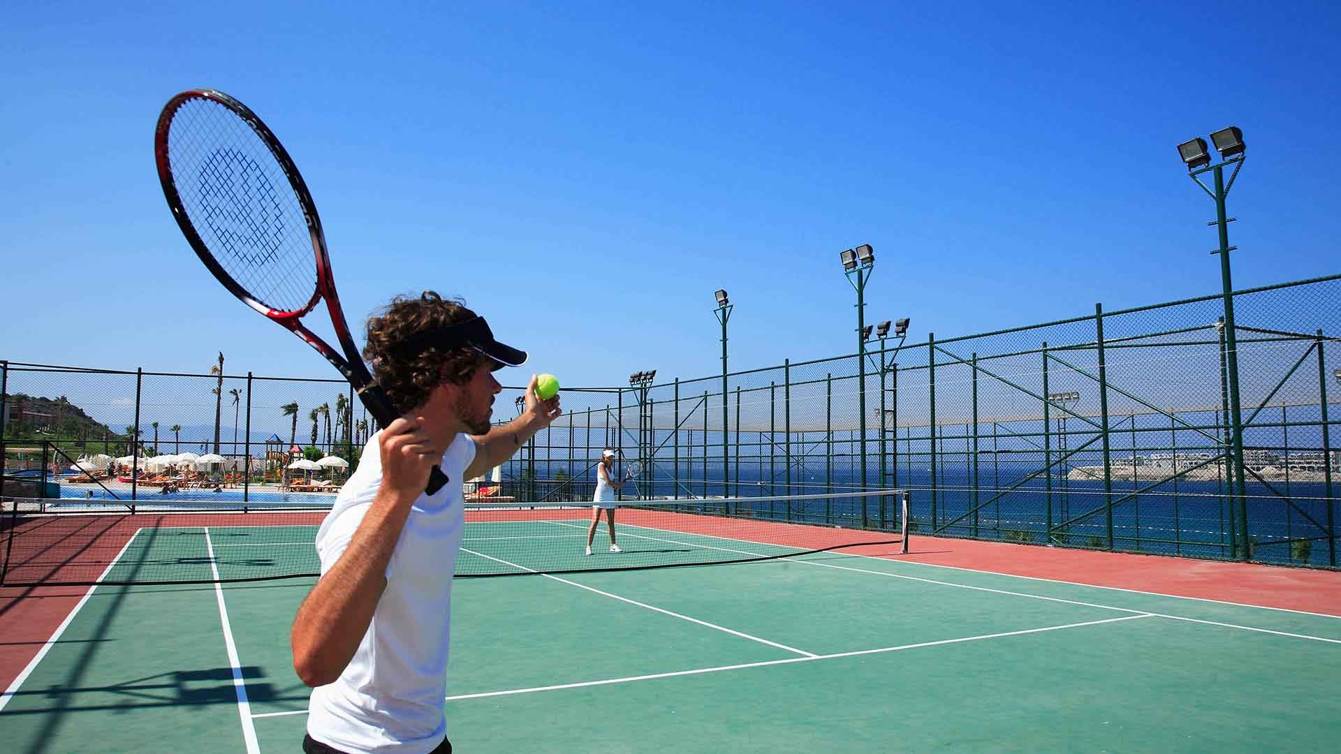 Kefaluka Resort - тенис