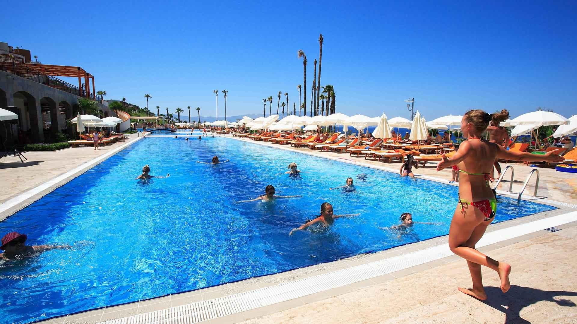Kefaluka Resort - аква аеробика