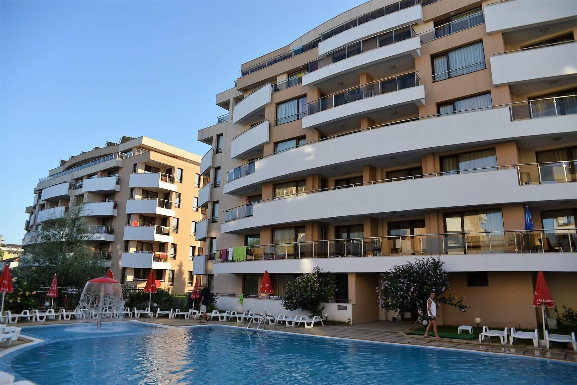 Хотел Хермес Александрия Клуб - общ изглед