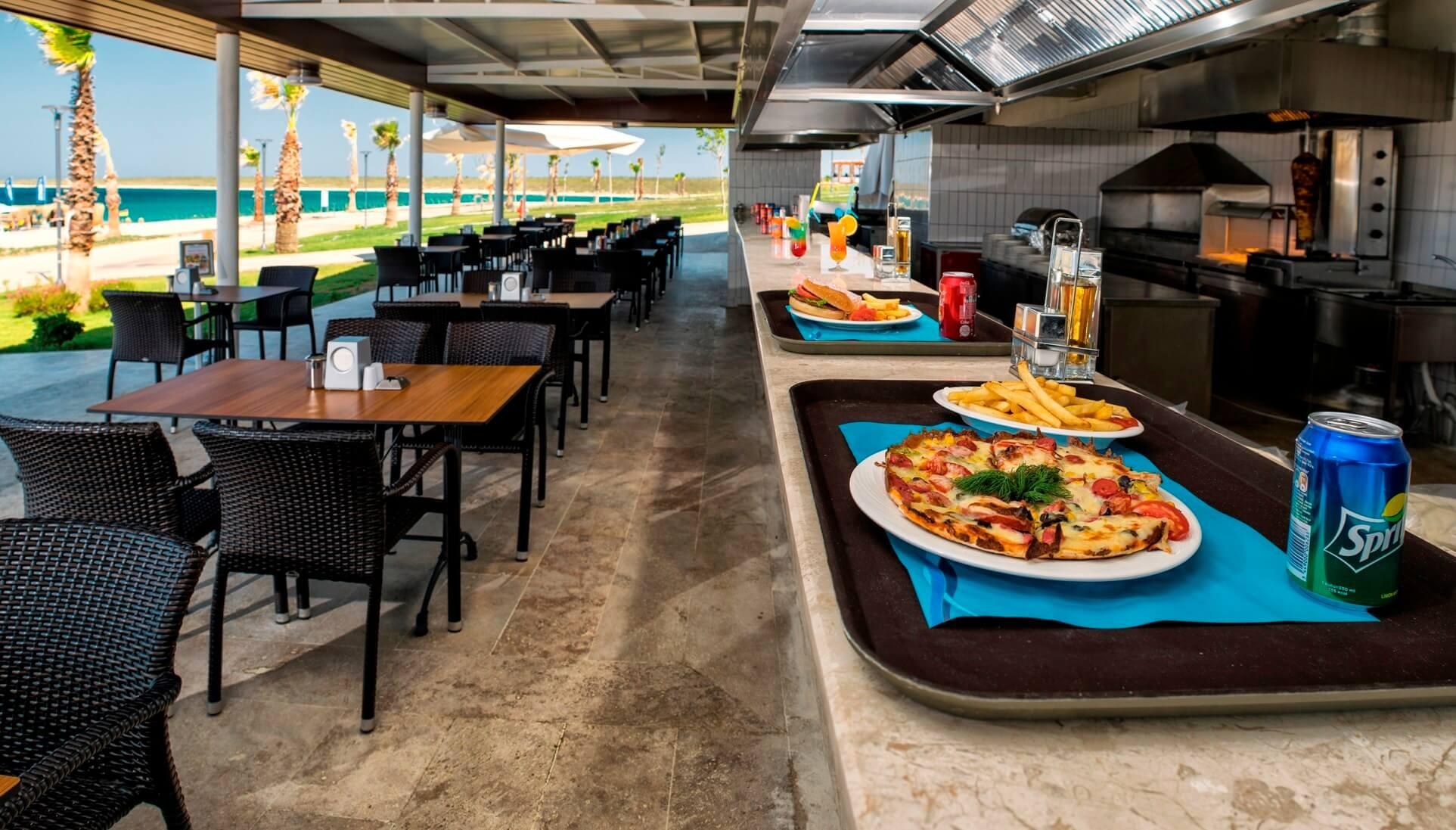 Aquasis De Luxe Resort & Spa - снек бар