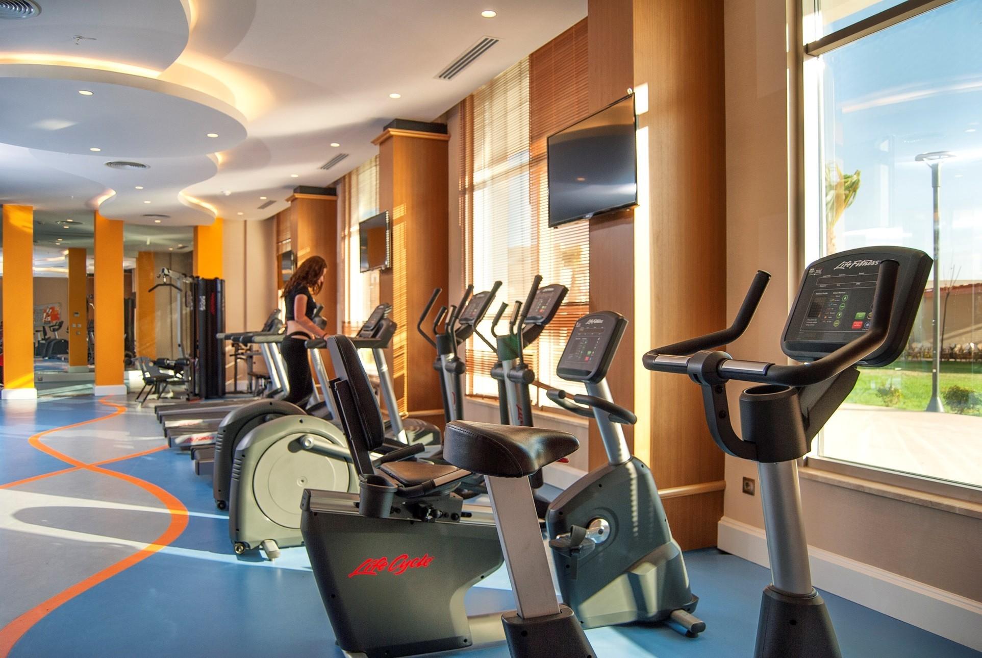 Aquasis De Luxe Resort & Spa - фитнес