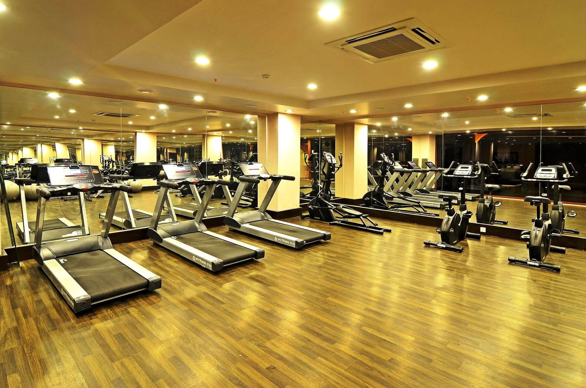 Palm Wings Beach Resort&SPA - фитнес