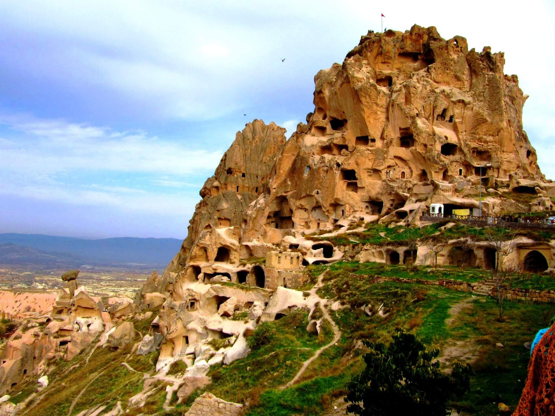 Uchisar Area, Cappadocia, Turkey  № 1427729 бесплатно
