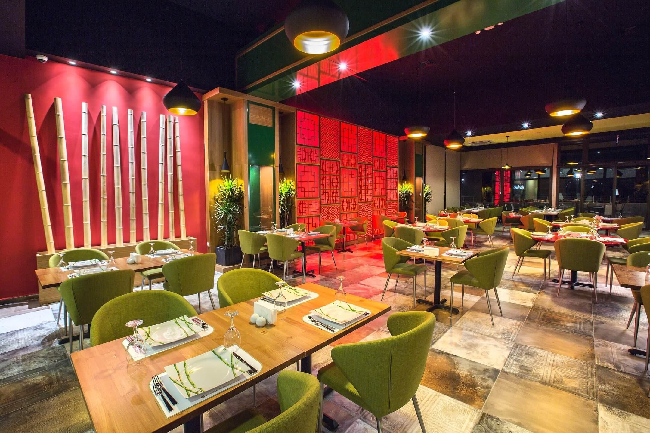 Amara Sealight Hotel - ресторант