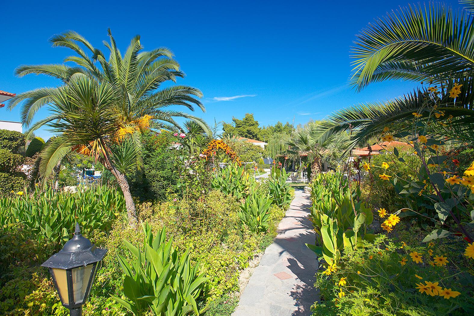 Chrousso Village Hotel - градина