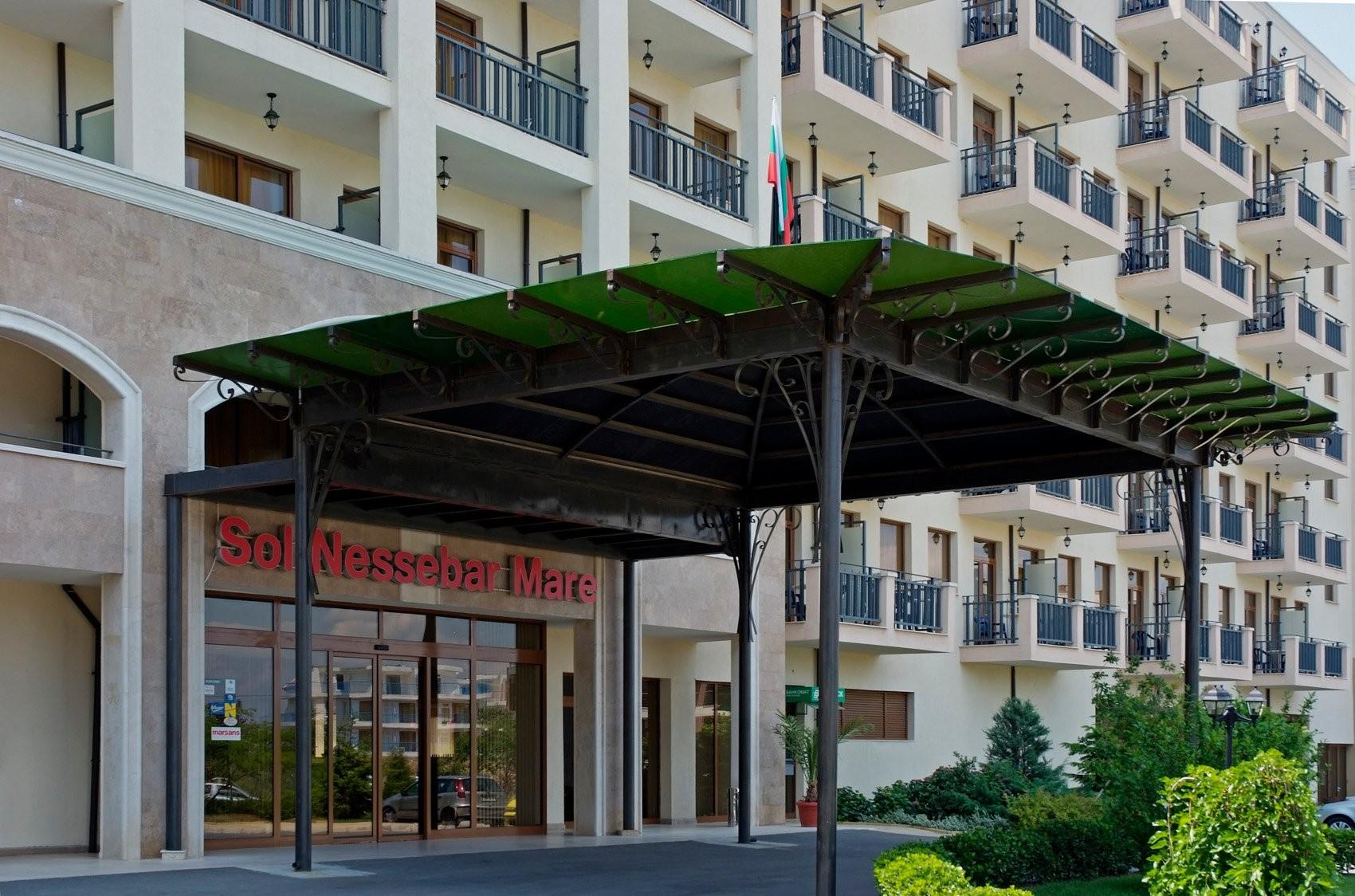 Хотели Сол Несебър Бей и Маре - общ изглед