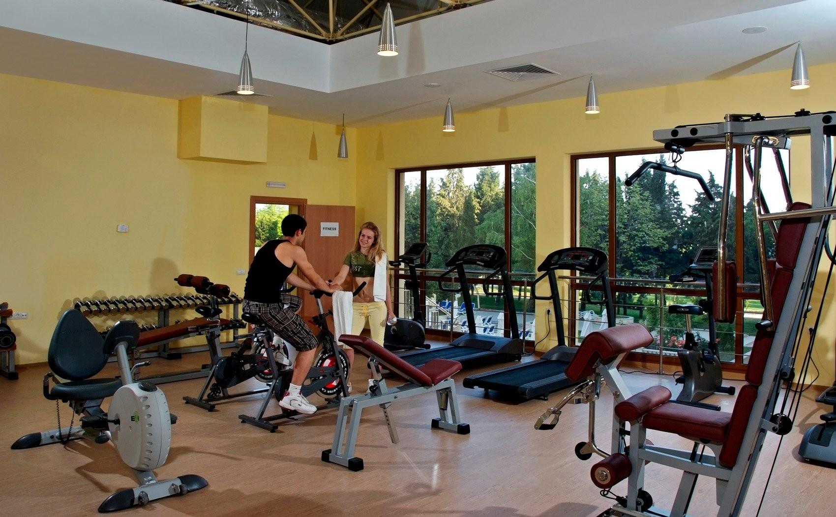 Хотел Сол Несебър Палас - фитнес зала