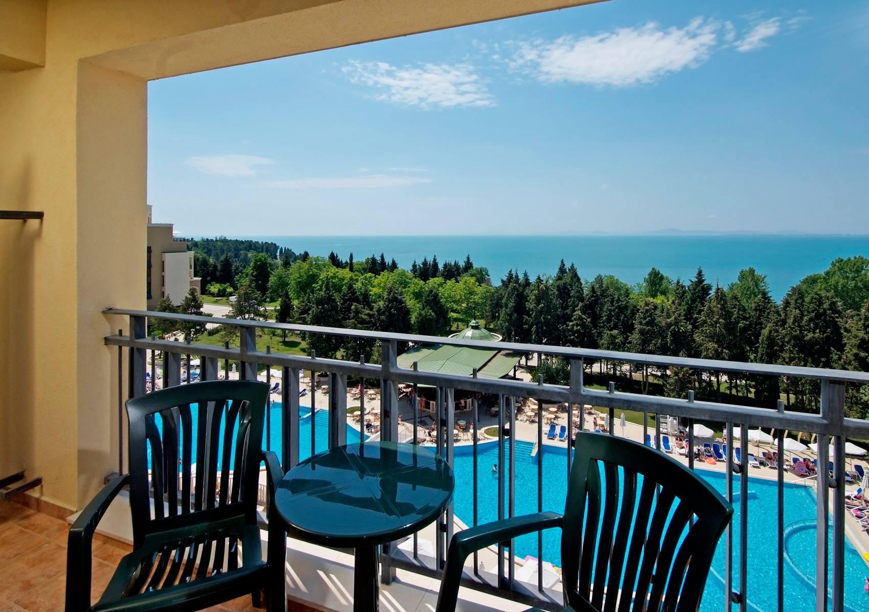 Хотел Сол Несебър Палас - изглед тераса