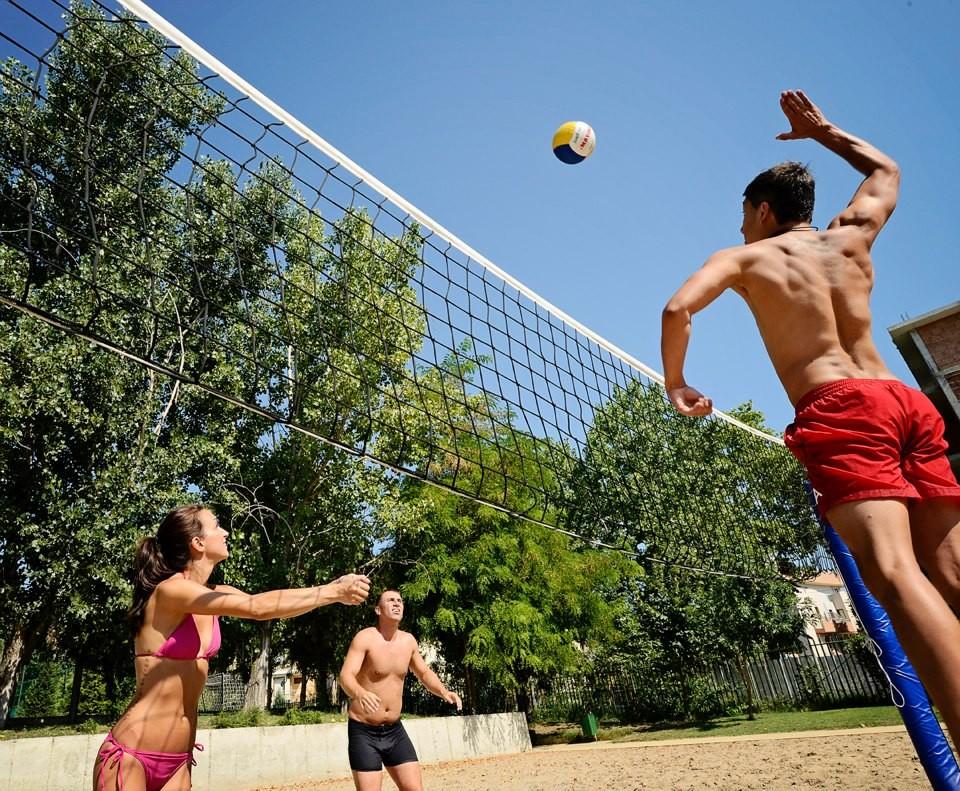 Хотели Сол Несебър Бей и Маре - волейбол