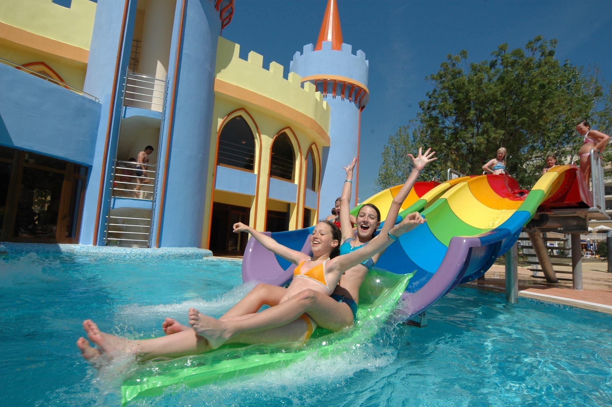 Хотел Сол Несебър Палас - аквапарк