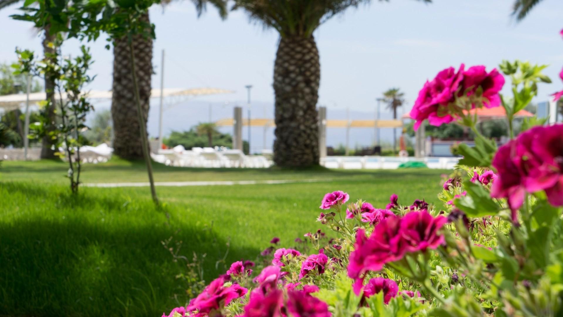 Grand Hotel Ontur - градина