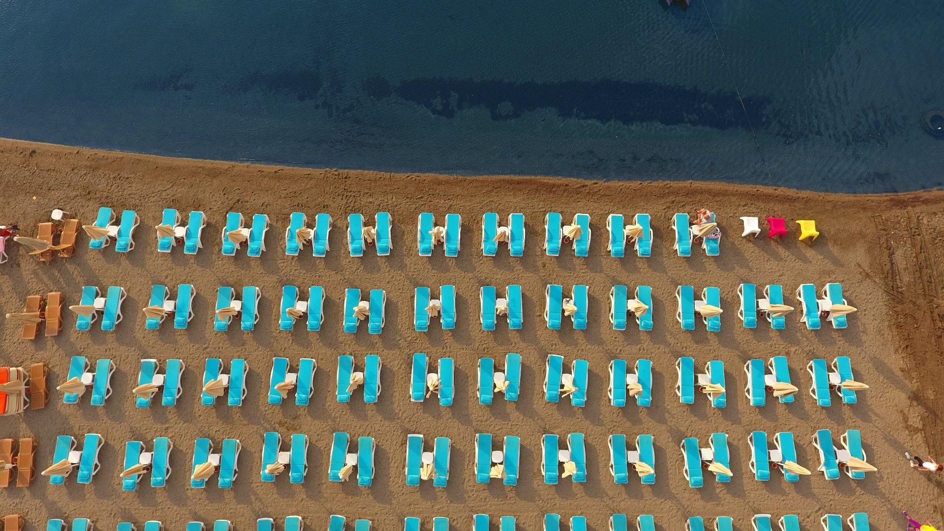 Blue Bay Platinum 5* - Мармарис, Турция - плаж