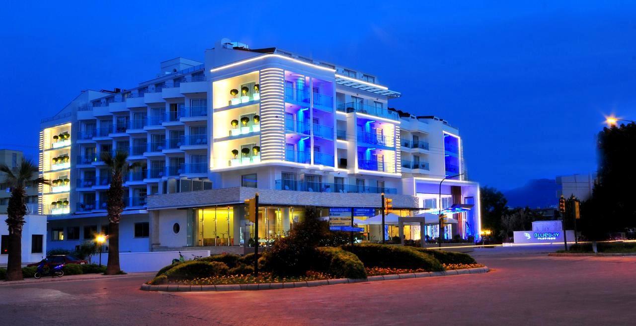 Blue Bay Platinum 5* - Мармарис, Турция - нощен изглед