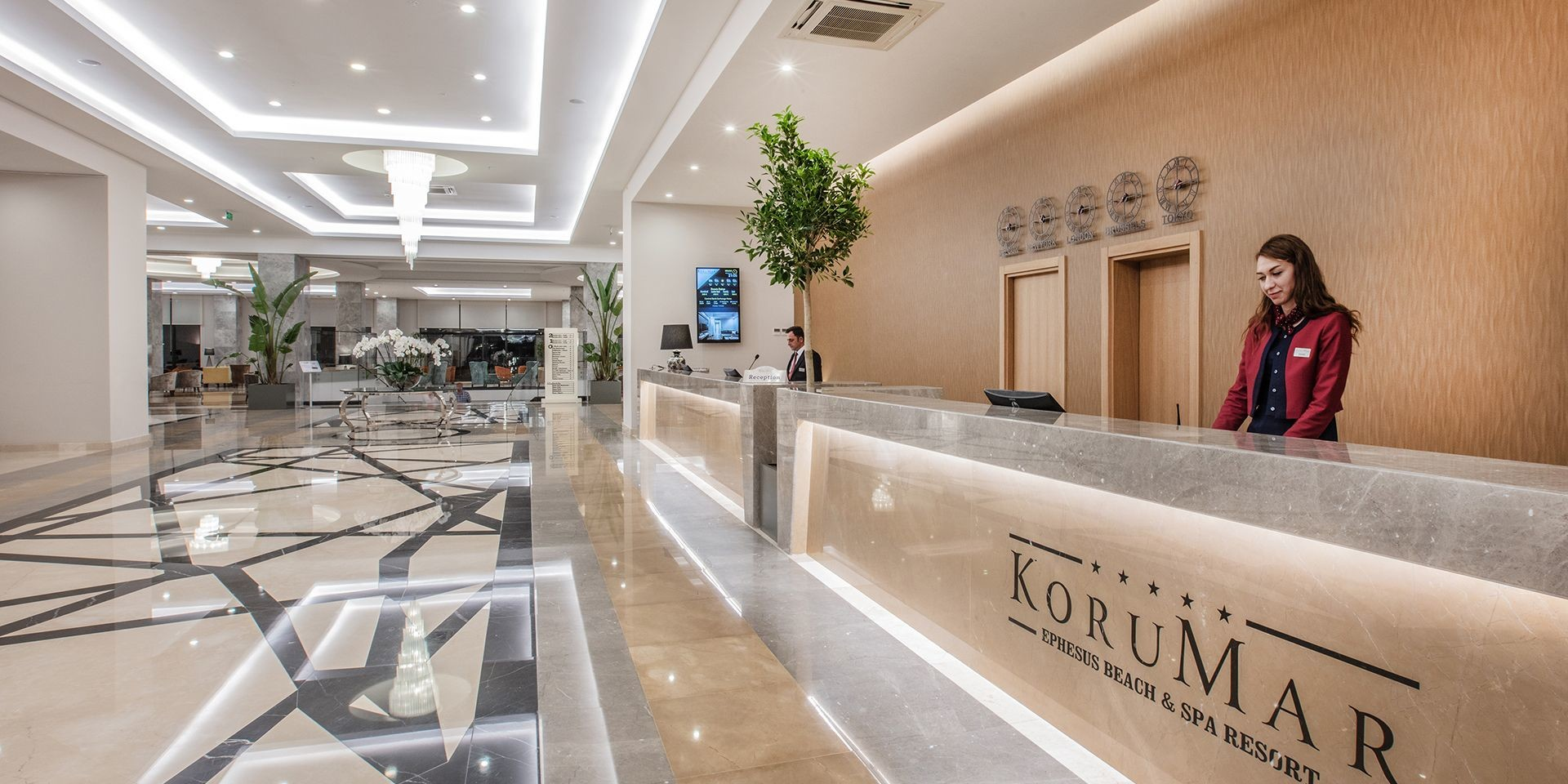 KoruMar Ephesus Beach & Spa Resort - рецепция