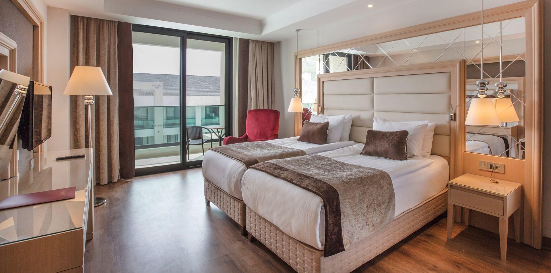 KoruMar Ephesus Beach & Spa Resort - стандартна стая
