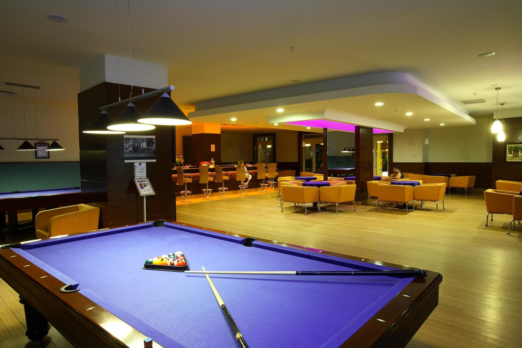 La Blanche Resort & Spa - билярдна зала